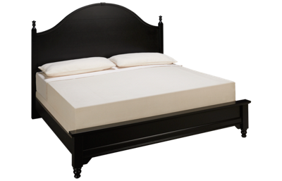 Vaughan-Bassett Cottage King Low Profile Panel Bed