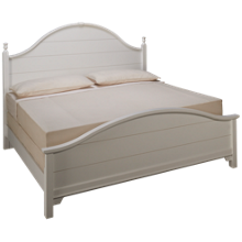 Vaughan-Bassett  Cottage King Panel Bed