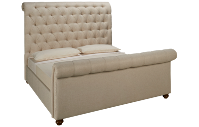 Universal River House King Boho Chic Upholstered Bed
