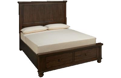 Aspen Hudson Valley Queen Storage Bed