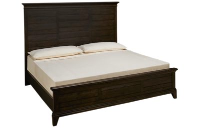 Kincaid Plank Road King Panel Bed