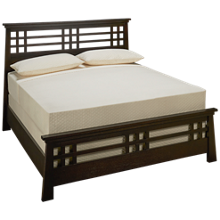 Ligna Furniture Zen Queen Grid Bed