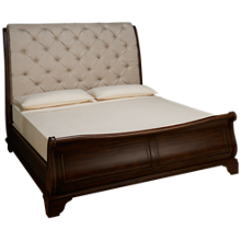 Klaussner Home Furnishings Trisha Yearwood Home Dottie King Sleigh Bed