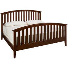 Mastercraft Palisades King Slat Bed