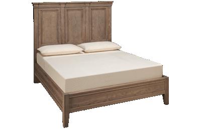 Vaughan-Bassett Passageways Queen Low Profile Mansion Bed