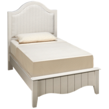 Vaughan-Bassett Casual Retreat Twin Upholsetered Bed