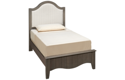 Vaughan-Bassett Casual Retreat Twin Upholstered Bed
