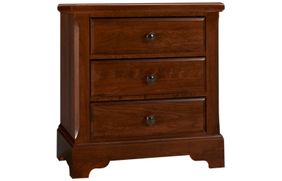 Vaughan-Bassett Artisan Choices 3 Drawer Nightstand
