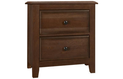 Vaughan-Bassett Artisan Choices 2 Drawer Nightstand