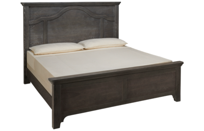 Vaughan-Bassett Bungalow King Mantel Bed