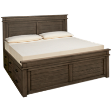 A America Glacier Point King Captains' Storage Bed