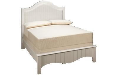 Vaughan-Bassett Casual Retreat Full Upholstered Bed