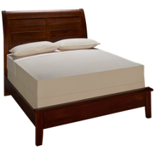 Vaughan-Bassett Artisan Choices Queen Low Profile Sleigh Bed