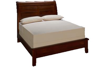 Vaughan-Bassett Artisan Choices Queen Low Profile Sleigh Bed