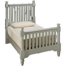 Vaughan-Bassett Cottage Twin Slat Bed