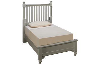 Vaughan-Bassett Cottage Twin Low Profile Slat Bed