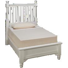 Vaughan-Bassett Twin Low Profile Slat Bed