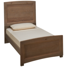 Vaughan-Bassett Transitions Twin Panel Bed