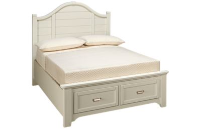 Vaughan-Bassett Bungalow Full Arched Storage Bed