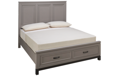 Aspen Hyde Park Queen Panel Platform Storage Bed