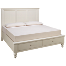 Aspen Cambridge King Flat Panel Platform Storage Bed