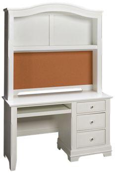 Vaughan Bett Cottage 3 Drawer Desk With Hutch Jordan S Furniture