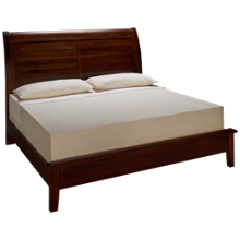 Vaughan-Bassett Artisan Choices King Low Profile Sleigh Bed