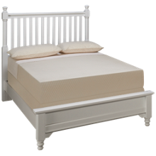 Vaughan-Bassett Full Low Profile Slat Bed