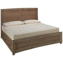 Vaughan-Bassett  Transition King Panel Storage Bed