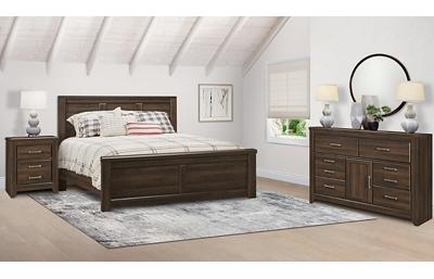 Juararo 3 Piece King Bedroom Set Includes: King