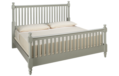 Vaughan-Bassett Cottage King Slat Bed