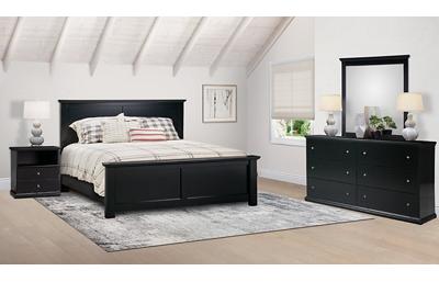 Maribel 4 Piece King Bedroom Set Includes: King