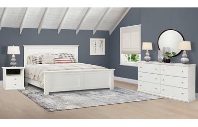 Bostwick Shoals 3 Piece King Bedroom Set Includes: