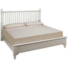Vaughan-Bassett King Low Profile Slat Bed