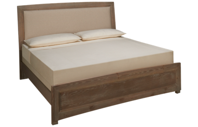 Vaughan-Bassett Transitions King Upholstered Panel Bed