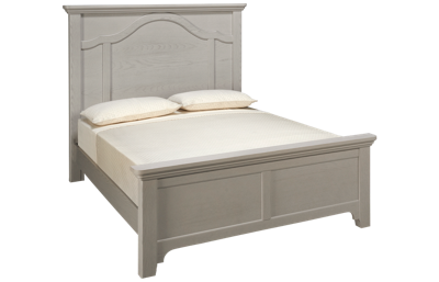 Vaughan-Bassett Bungalow Queen Mantel Bed
