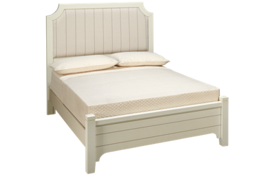 Vaughan-Bassett Bungalow Full Low Profile Upholstered Bed