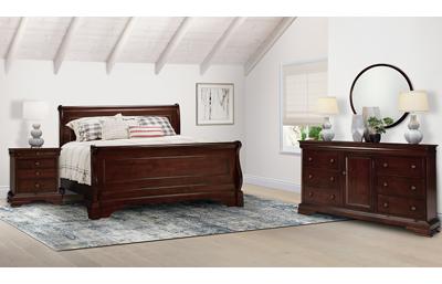 Versailles 3 Piece Queen Bedroom Set Includes: Queen