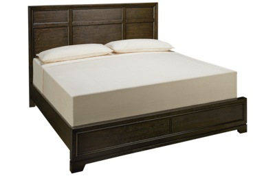 Aspen Front Street King Panel Low Profile Bed