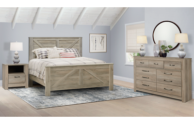Bellaby 3 Piece Queen Bedroom Set Includes: Queen
