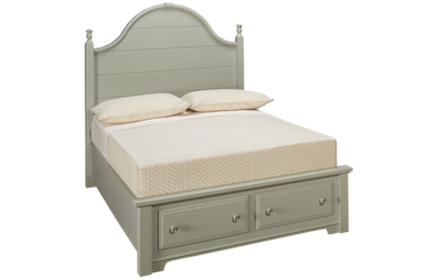 Vaughan-Bassett Cottage Full Panel Storage Bed