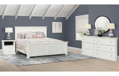 Bostwick Shoals 3 Piece Queen Bedroom Set Includes: