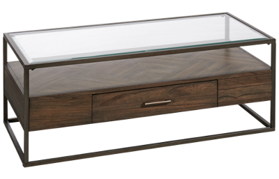 Liberty Furniture Jamestown Cocktail Table with Storage