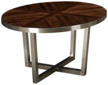 Flexsteel Axis Round Cocktail Table