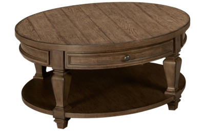 Liberty Furniture Harvest Home Round Cocktail Table