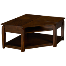 Klaussner Home Furnishings Wedgeland Wedge Cocktail Table
