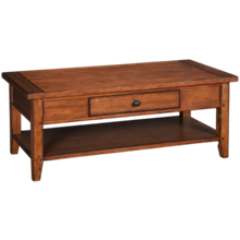 Aspen  Cross Country Rectangle Cocktail Table