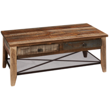 International Furniture Direct Antique Rectangle Cocktail Table