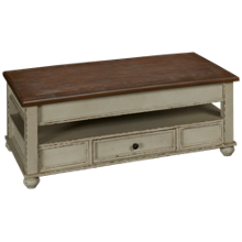 Ashley Realyn Rectangular Lift Top Cocktail Table