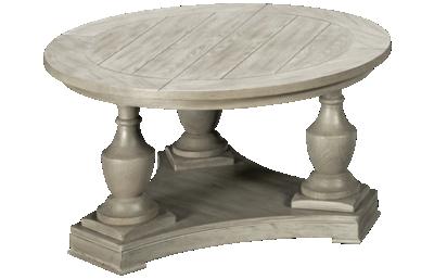 Bassett Mirror Laurel Round Cocktail Table